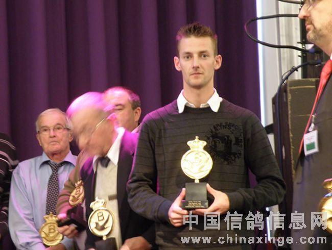 2011年FCI世界锦标赛颁奖会(图)